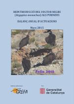 Informe 2014 voltor negre a Pirineus (Catalán)
