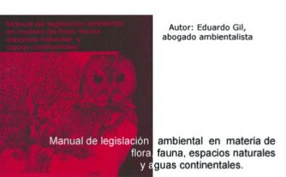 Manual de legislación ambiental